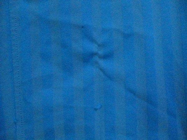 b988 le coq GOLF ルコックゴルフ 半袖ポロシャツ サイズL 水色系 25-8_画像4