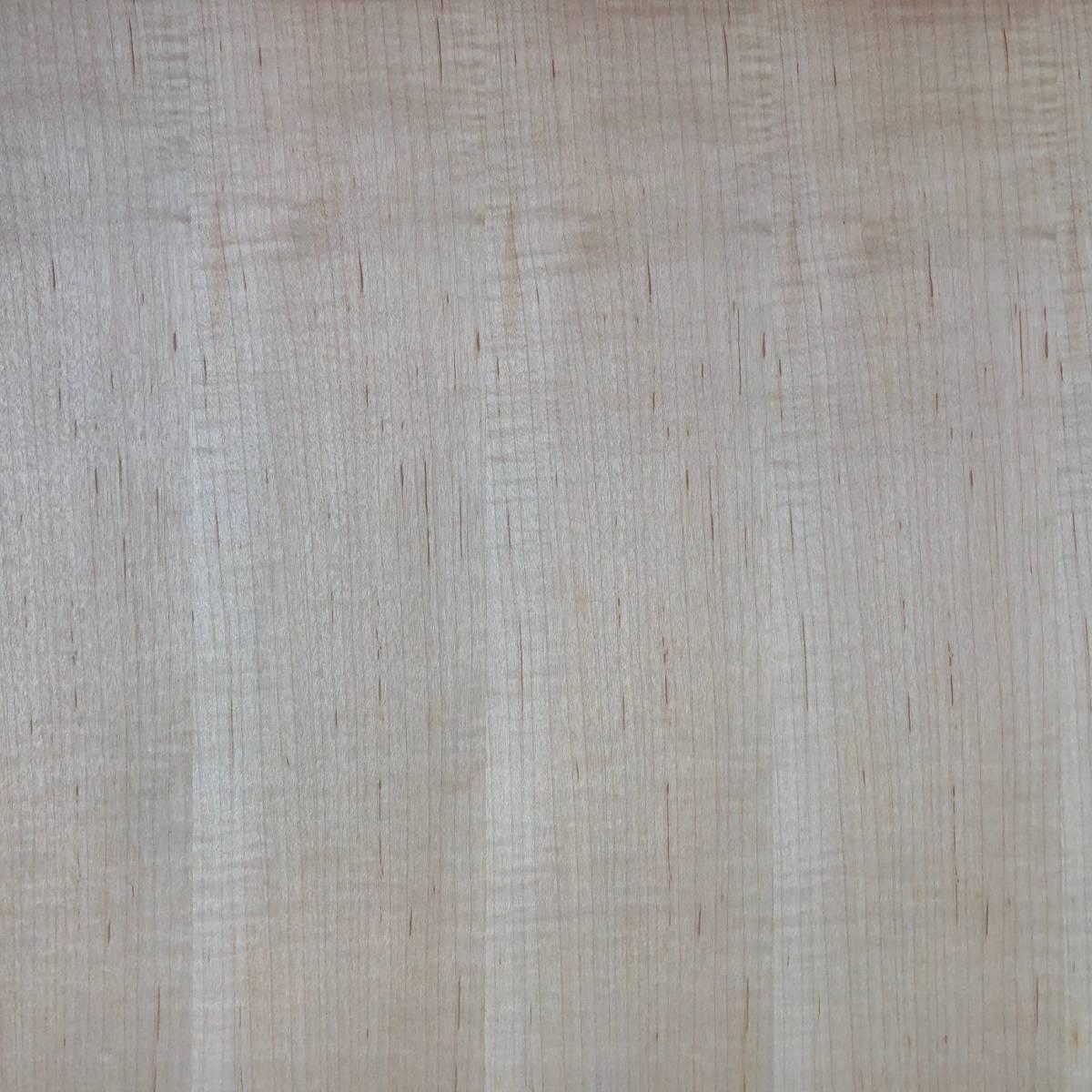 天然木ツキ板化粧合板 突板 ハードメープル 柾目 2.5mm厚 幅約450mm 長さ約800mm 4枚セット DIY 日曜大工 木工 アウトレット_画像4