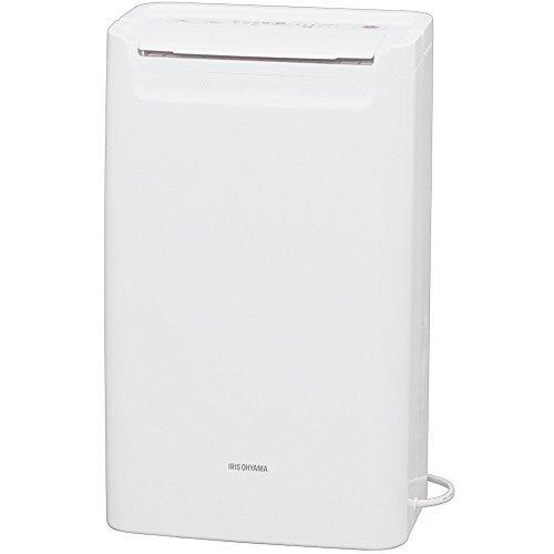 ホワイト 1)タンク容量1.8L アイリスオーヤマ 衣類乾燥除湿機 タイマー付 除湿量 6.5L コンプレッサー方式 DCE-6_画像8
