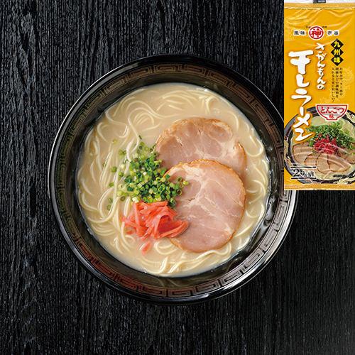 御徳用 九州博多 豚骨らーめんセット大人気 5種各6食分 30食分¥3380 全国送料無料 うまかばい_画像6