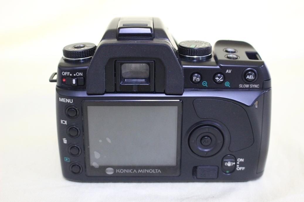 中古品 KONICA MINOLTA α Sweet DIGITAL DG-5D デジタル一眼レフカメラ 交換レンズ AF DT18-70 代引き可_画像5