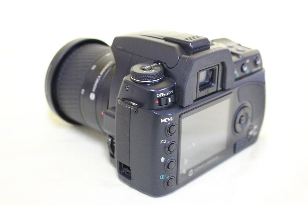 中古品 KONICA MINOLTA α Sweet DIGITAL DG-5D デジタル一眼レフカメラ 交換レンズ AF DT18-70 代引き可_画像4