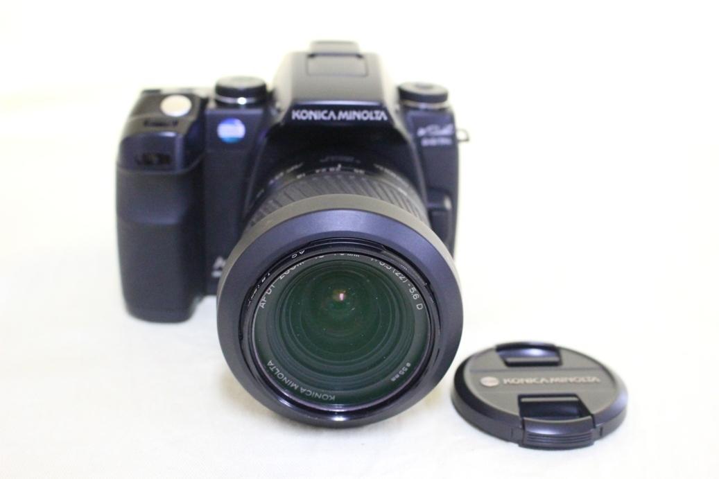 中古品 KONICA MINOLTA α Sweet DIGITAL DG-5D デジタル一眼レフカメラ 交換レンズ AF DT18-70 代引き可_画像2