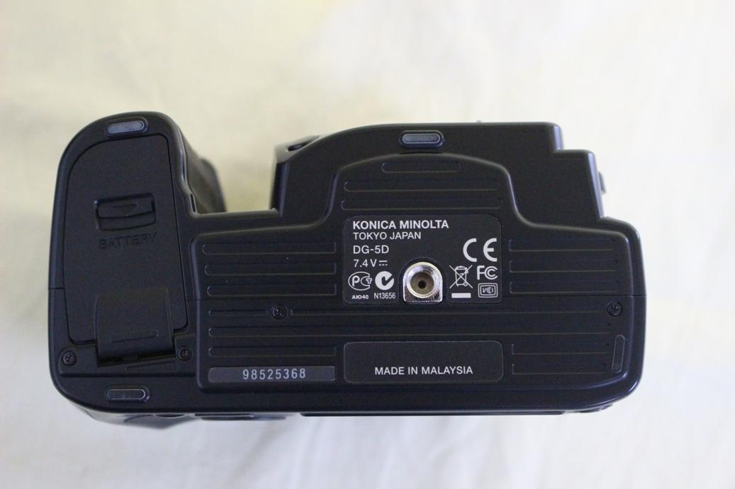 中古品 KONICA MINOLTA α Sweet DIGITAL DG-5D デジタル一眼レフカメラ 交換レンズ AF DT18-70 代引き可_画像9
