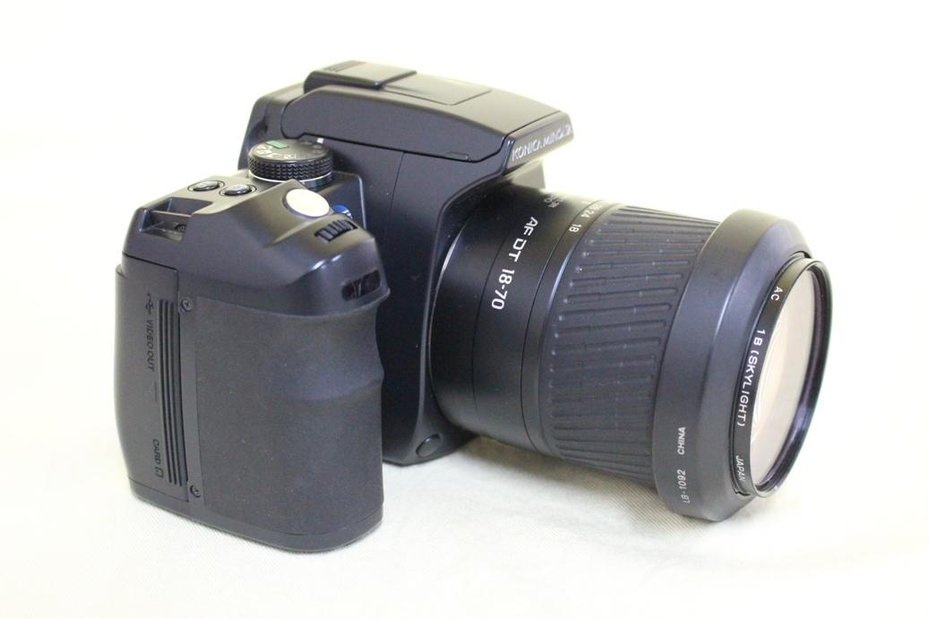 中古品 KONICA MINOLTA α Sweet DIGITAL DG-5D デジタル一眼レフカメラ 交換レンズ AF DT18-70 代引き可_画像6