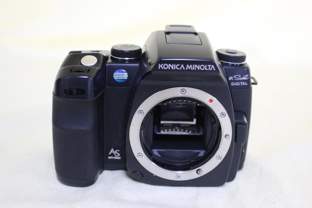 中古品 KONICA MINOLTA α Sweet DIGITAL DG-5D デジタル一眼レフカメラ 交換レンズ AF DT18-70 代引き可_画像7