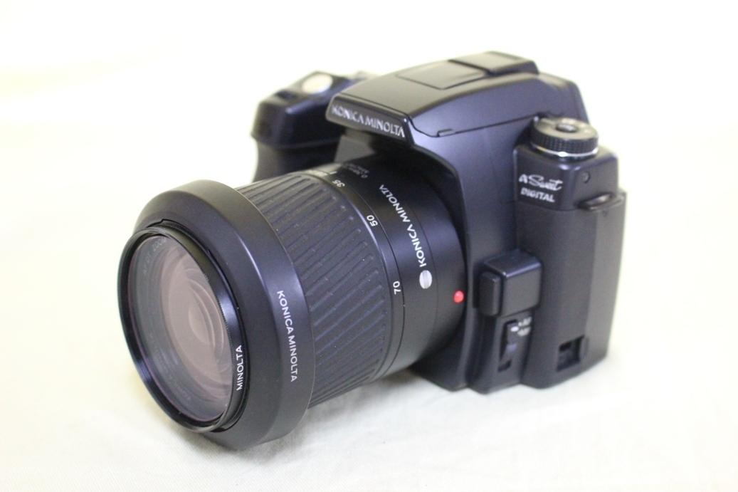 中古品 KONICA MINOLTA α Sweet DIGITAL DG-5D デジタル一眼レフカメラ 交換レンズ AF DT18-70 代引き可_画像3