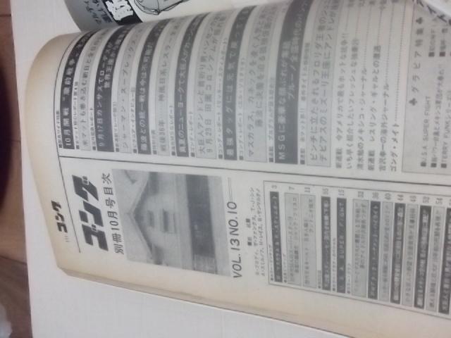 日本スポーツ。別冊ゴング1981年10月号。マスカラス。馬場。プロレス。アリ。猪木_画像5