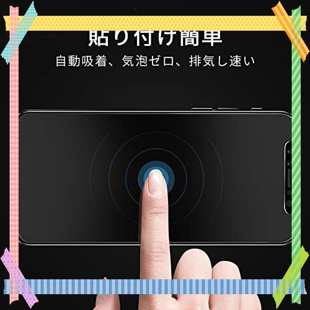 ★特別価格!!★ G-luck【二枚セット】iphone XR 強化ガラス液晶保護フィルム 高透過率 飛散防止 硬度9H 指紋防_画像3