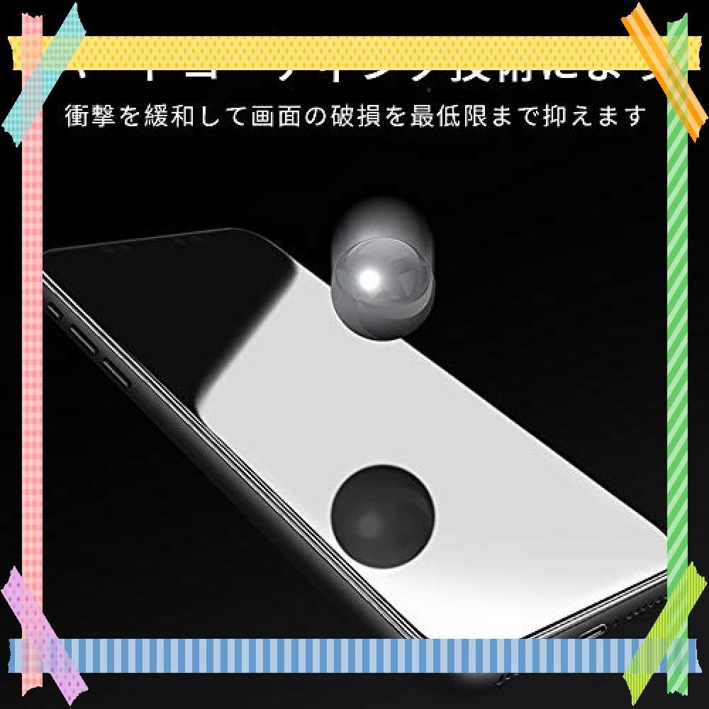 ★特別価格!!★ G-luck【二枚セット】iphone XR 強化ガラス液晶保護フィルム 高透過率 飛散防止 硬度9H 指紋防_画像5