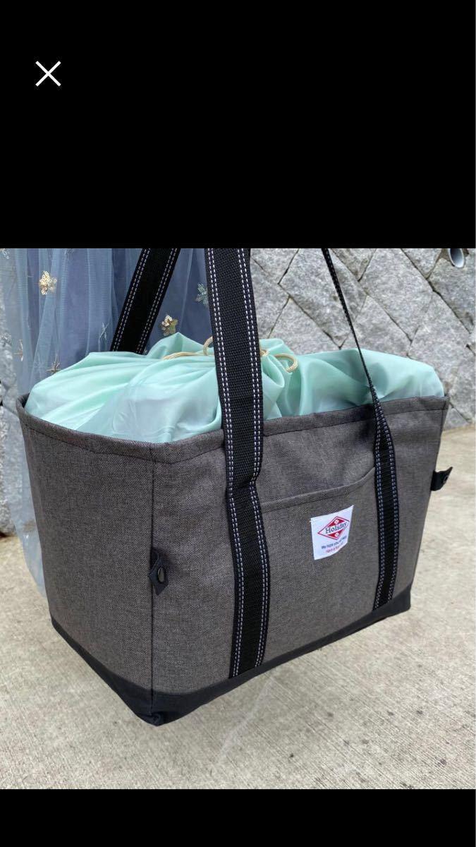 レジカゴバッグ 保冷バッグ エコバッグコンビニバッグ大容量当日発送 グレー