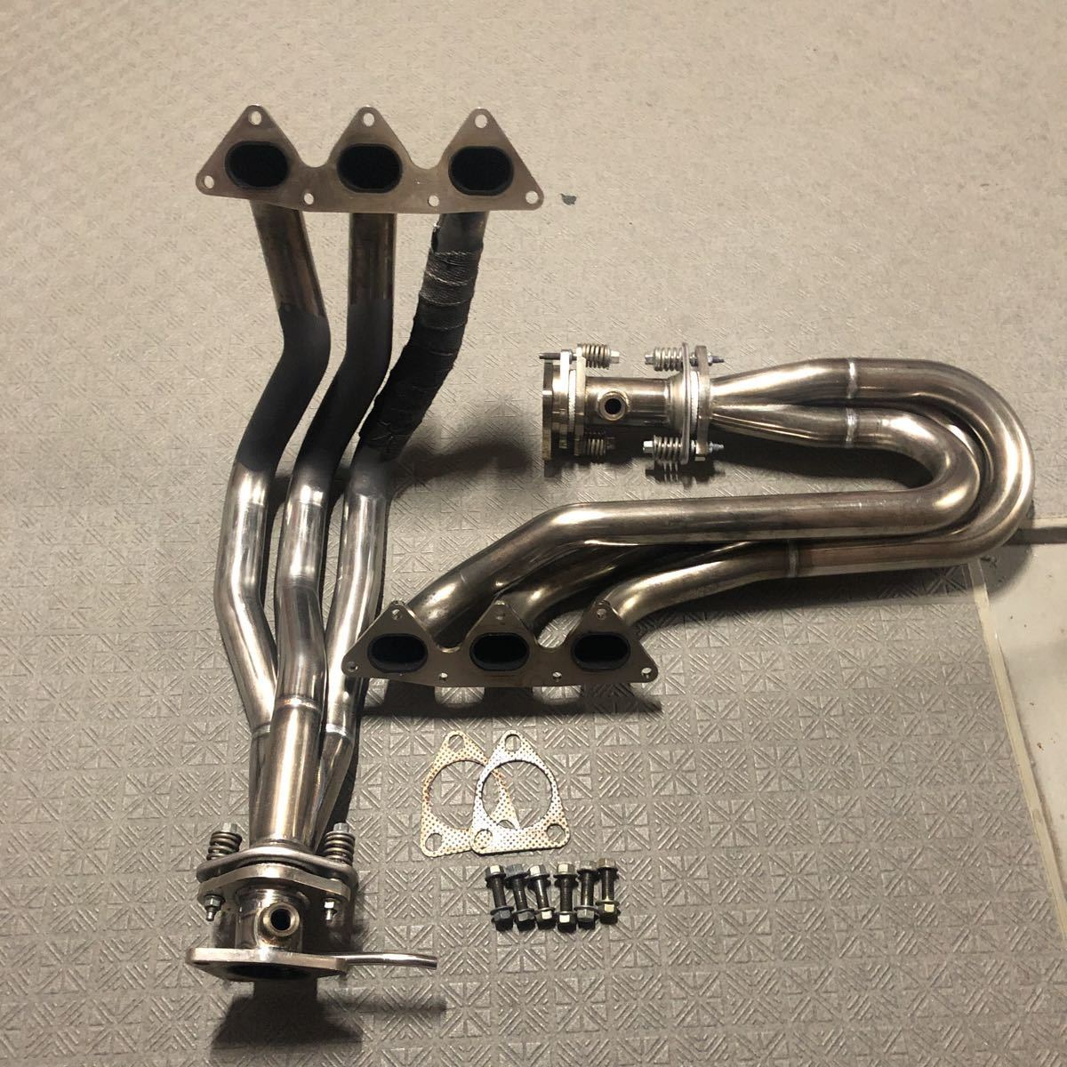 ホンダ NSX KSP製 エキマニ エキゾーストマニホールド フロントパイプ タコ足 美品 NA1 NA2 タイプRなどに