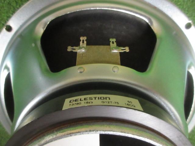 ★セレッション CELESTION G12T-75 16Ω スピーカー ギター アンプ マーシャル Marshall 1960LEAD 2005年 3_画像4