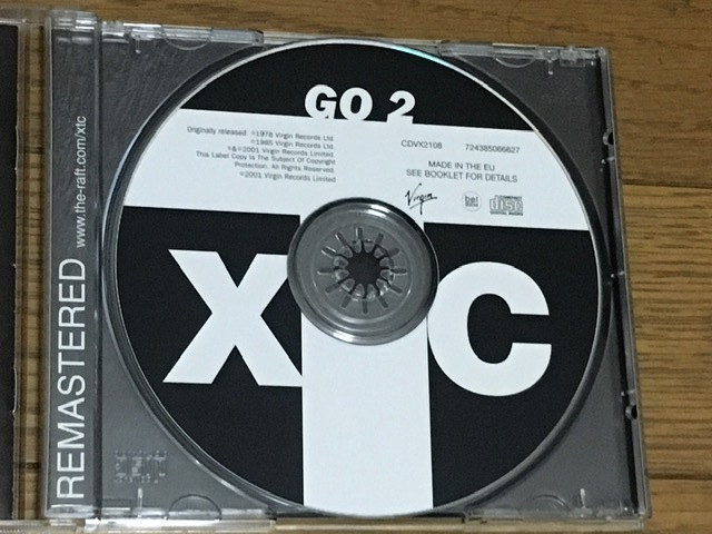 XTC / GO 2 ニューウェイブ ポストパンク 名盤 輸入盤(EU盤 2001年発売リマスター盤) Andy Partridge Barry Andrews League Of Gentlemen_画像5