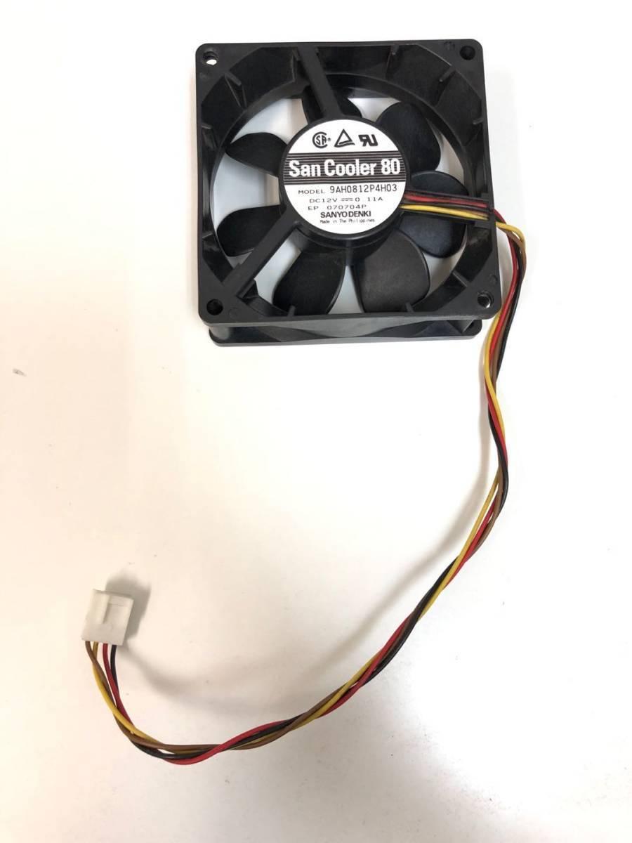 Z-101 送料無料 複数購入可能 NEC Express5800 GT110 ファン 9AH0812P4H03 80mm/4線 (FN134)_画像2