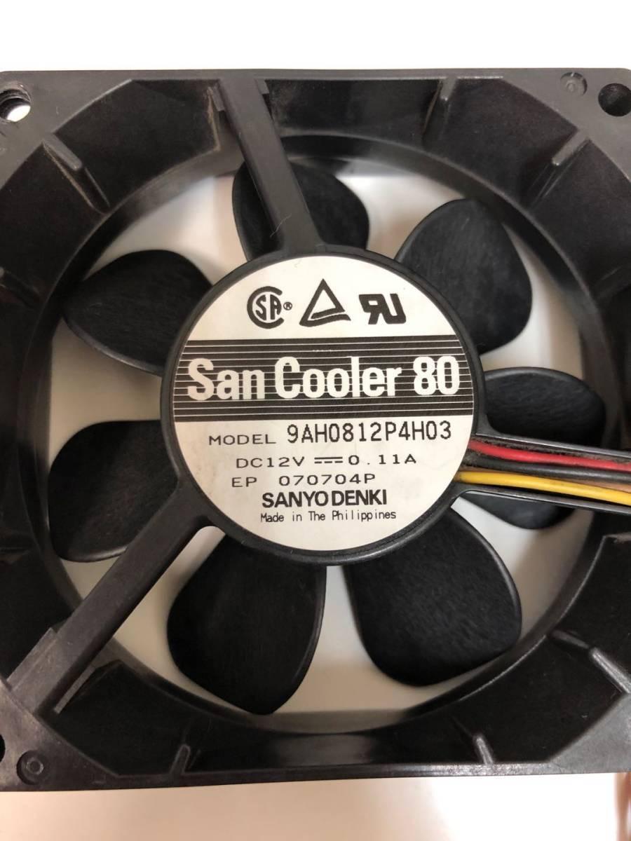 Z-101 送料無料 複数購入可能 NEC Express5800 GT110 ファン 9AH0812P4H03 80mm/4線 (FN134)_画像3