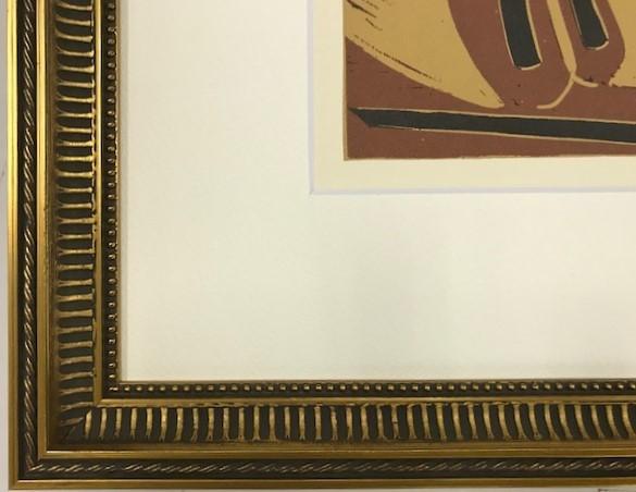 【特価】 ≪  パブロ・ピカソ  ≫  LINOLEUM-CUTS【リノカット版画】  PICADOR AND BULL  1962年  PABLO PICASSO