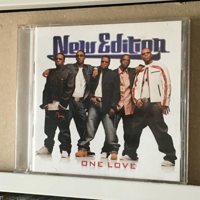 ニュー・エディション NEW EDITION「ONE LOVE」*P.Diddy率いるバッド・ボーイ・レコードからのリリース(2004年)*7thアルバム *輸入盤_画像1
