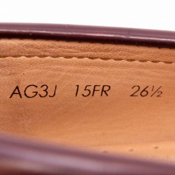 即決 REGAL リーガル コインローファー ブラウン 茶色 メンズ 本革 本皮 レザー 革靴 26.5cm ビジネスシューズ カジュアル 紳士靴 0477_画像8