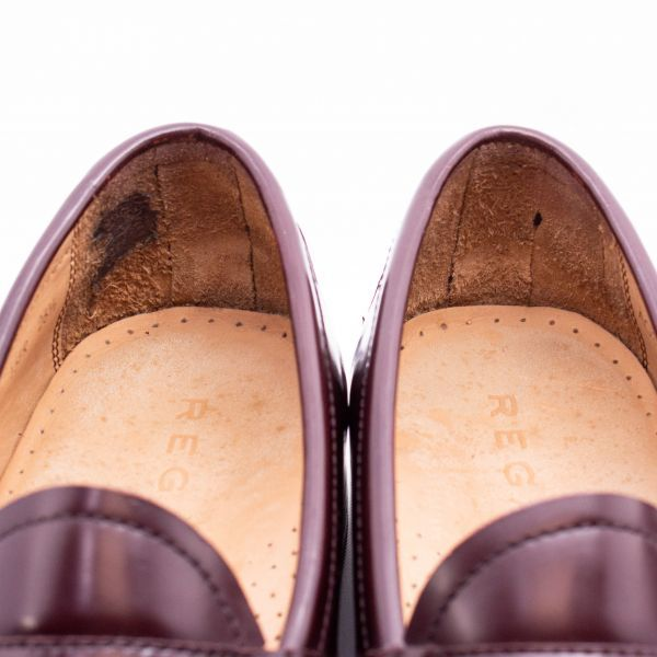 即決 REGAL リーガル コインローファー ブラウン 茶色 メンズ 本革 本皮 レザー 革靴 26.5cm ビジネスシューズ カジュアル 紳士靴 0477_画像9