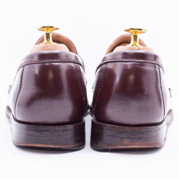 即決 REGAL リーガル コインローファー ブラウン 茶色 メンズ 本革 本皮 レザー 革靴 26.5cm ビジネスシューズ カジュアル 紳士靴 0477_画像4