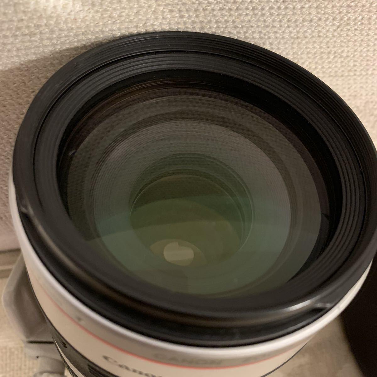 格安スタート!Canon キャノン ZOOM LENS EF 100-400㎜ 1:4.5-5.6 L IS USM ULTRASONIC IMAGE STABILIZER フード ケース付_画像9