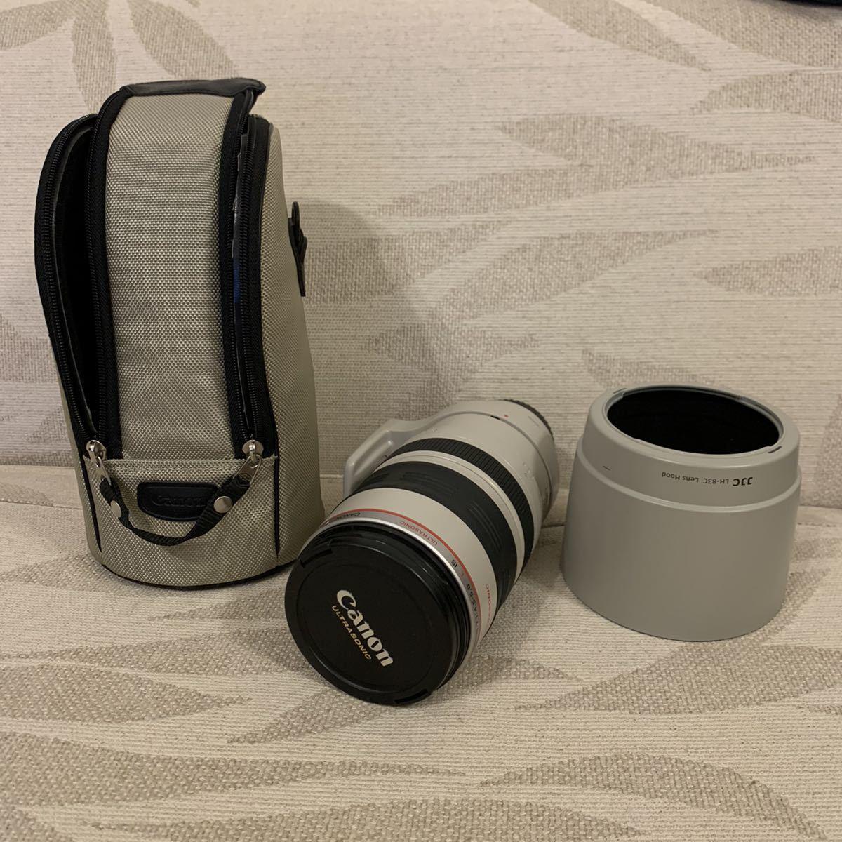 格安スタート!Canon キャノン ZOOM LENS EF 100-400㎜ 1:4.5-5.6 L IS USM ULTRASONIC IMAGE STABILIZER フード ケース付