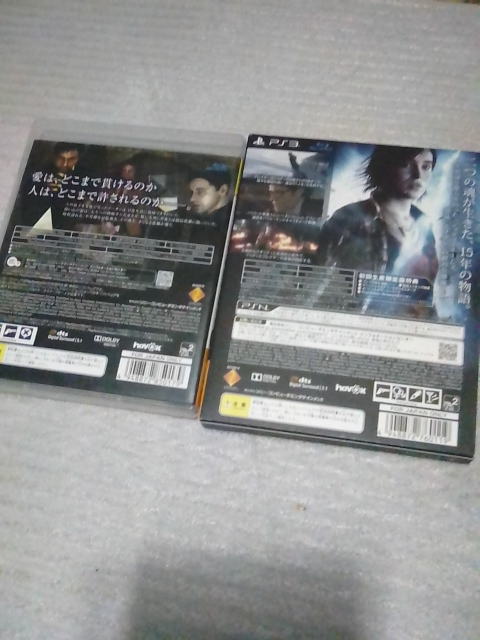 PS3用ソフト HEAVY RAIN心が軋むとき BEYOND Two SOULS