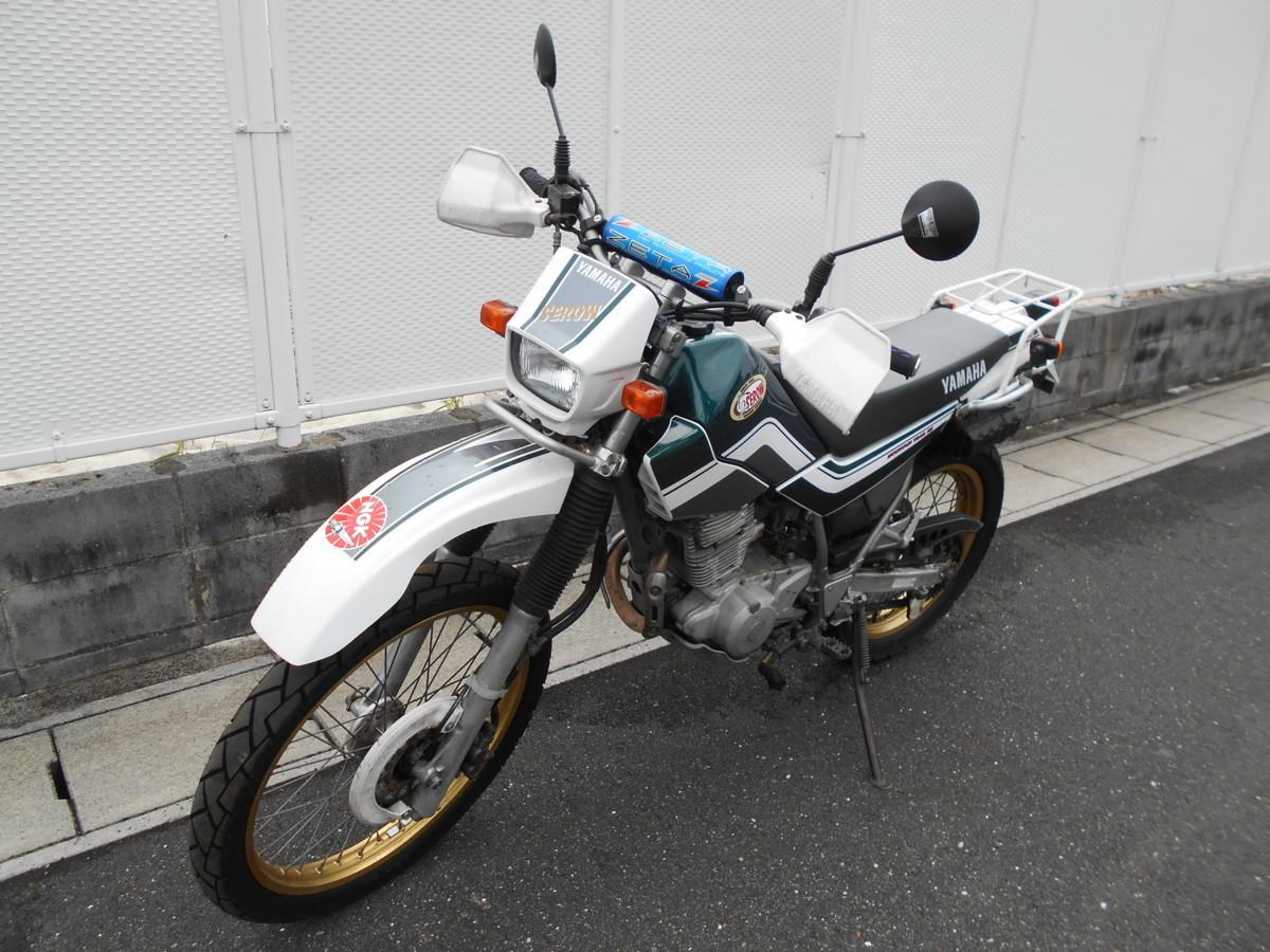 「絶版メーカ―廃盤2000ヤマハセロ-225WEDG08JXT225WEマニア館趣味のバイクギフトップトレ-ディング」の画像2