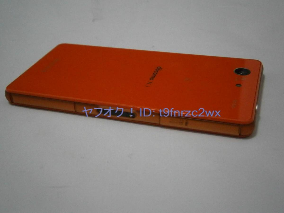 docomo SONY Xperia Z3 Compact SO-02G 判定○ 初期化済み ドコモスマホ ジャンク②_画像3