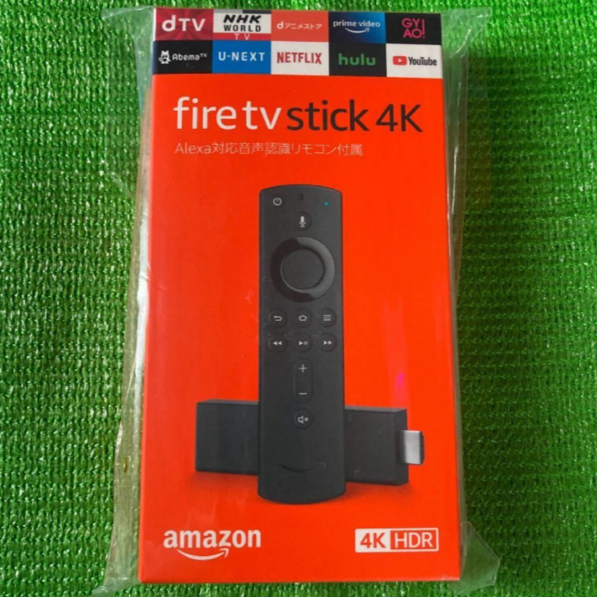 【新品・未開封】fire tv stick 4K Amazon
