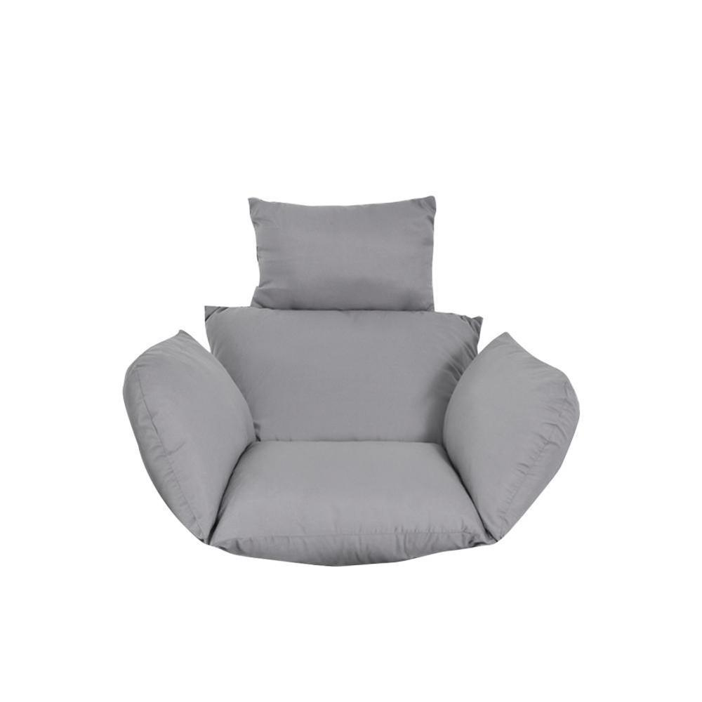 ハンモック椅子 ソフトシートクッション シート ハンモック椅子のみ 色: Silver H2806n_画像1