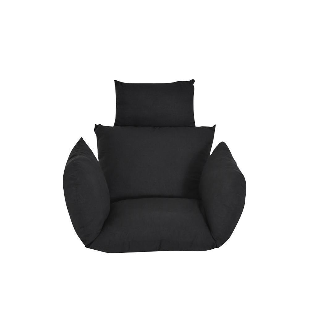 ハンモック椅子 ソフトシートクッション シート ハンモック椅子のみ 色: Silver H2806n_画像2