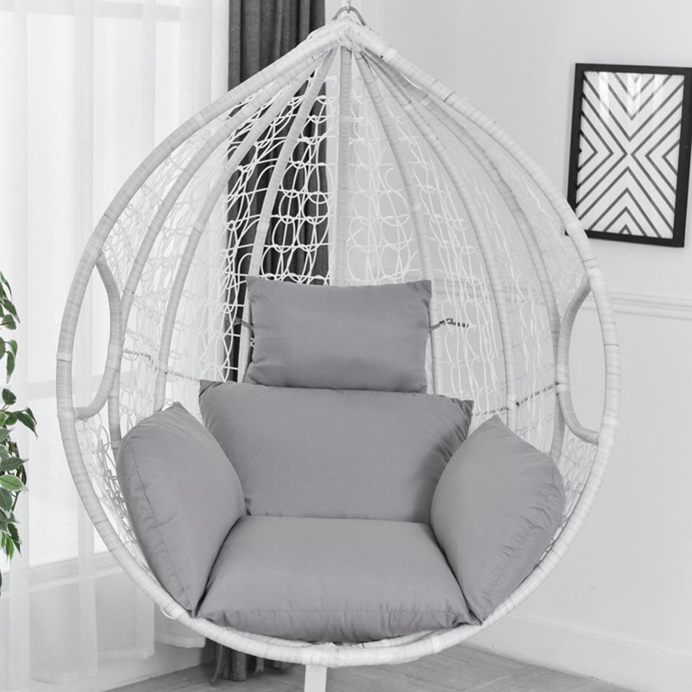 ハンモック椅子 ソフトシートクッション シート ハンモック椅子のみ 色: Silver H2806n_画像3