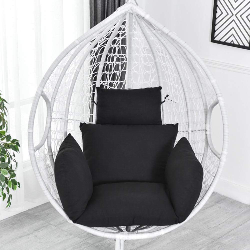 ハンモック椅子 ソフトシートクッション シート ハンモック椅子のみ 色: Silver H2806n_画像4