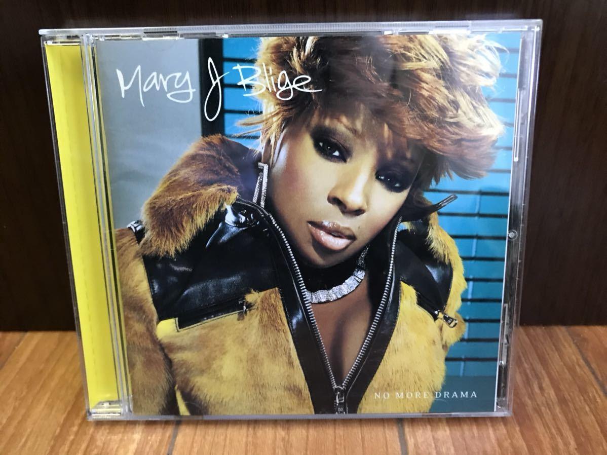◆送料無料◆◆Mary J Blige / NO MORE DRAMA 女性R&Bシンガーのトップに位置するディーバ メアリージェイブライジュ