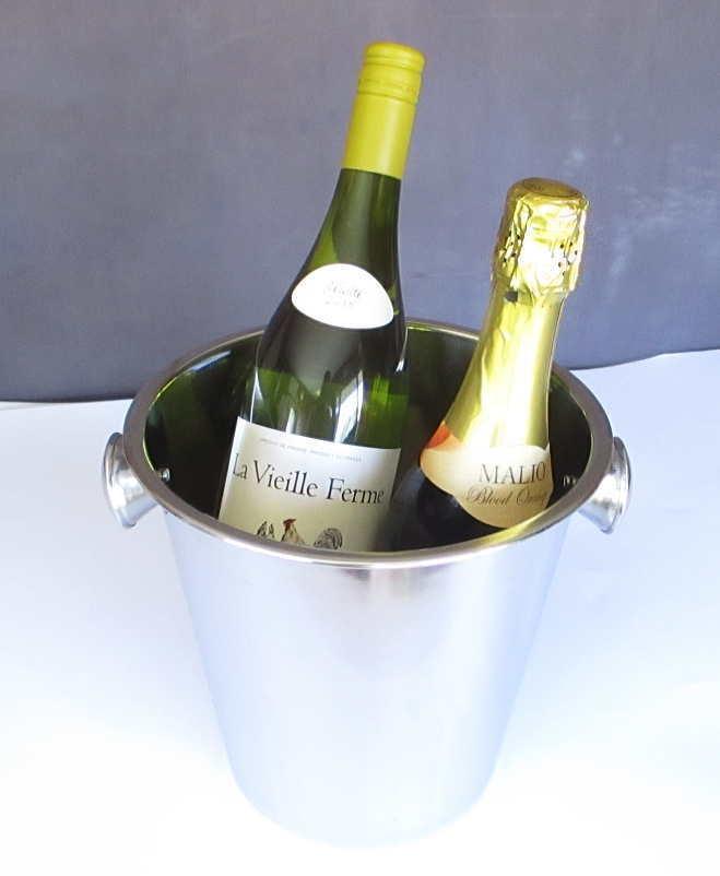 ワインクーラー ステンレス_ワインは売り物では有りません