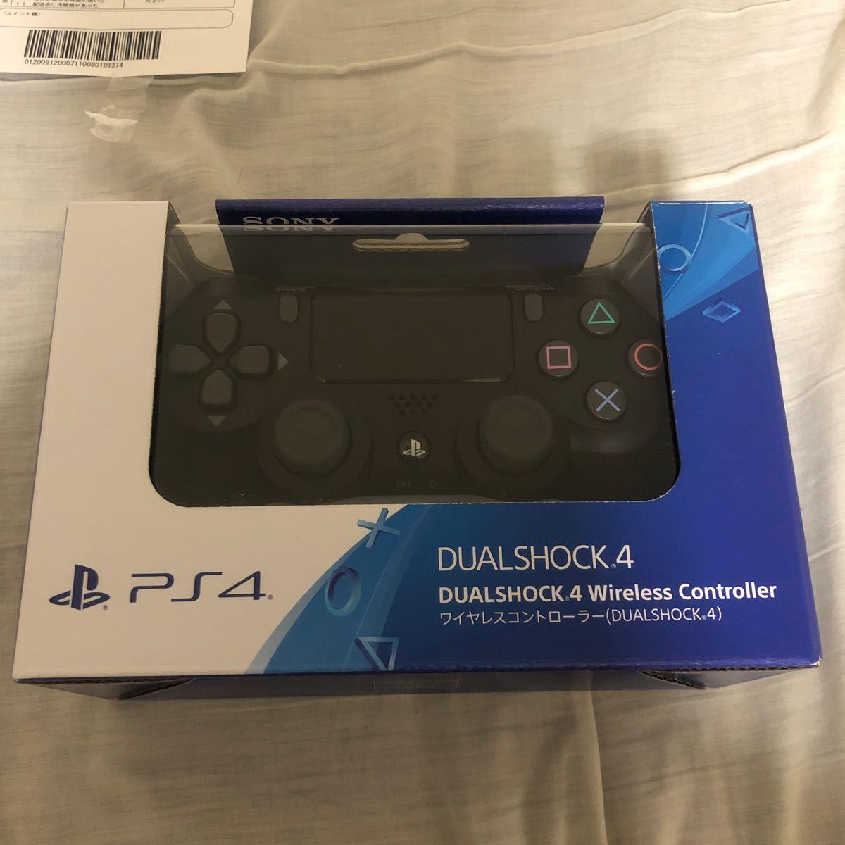 PS4 DUALSHOCK4 ワイヤレス コントローラー 純正 ジェットブラック