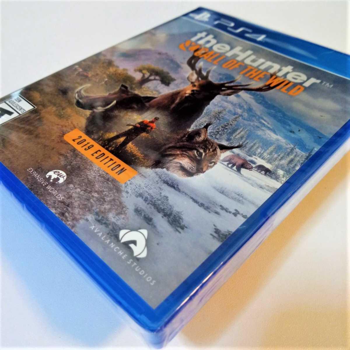 The Hunter call of The wild 2019 Edition 北米版 ザ ハンターコールオブザワイルド2019エディション PS4