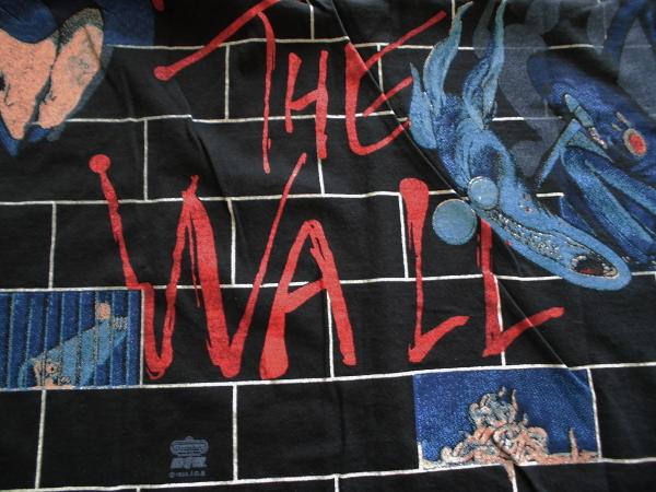 XL☆ピンクフロイドPINK FLOYD☆総柄Tシャツ THE WALL70年代70sアメリカusaバンド ロック プログレ映画キャラ_画像5