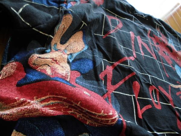 XL☆ピンクフロイドPINK FLOYD☆総柄Tシャツ THE WALL70年代70sアメリカusaバンド ロック プログレ映画キャラ_画像6