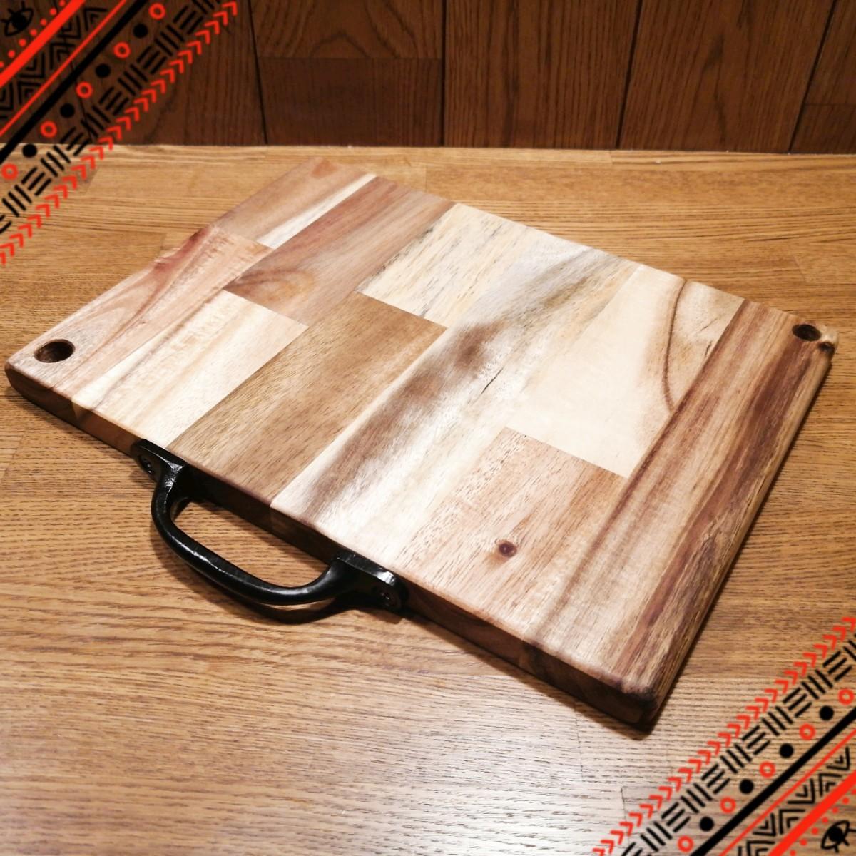 【本日限定価格】ペグテーブル・まな板・プレート兼用 アウトドアテーブル