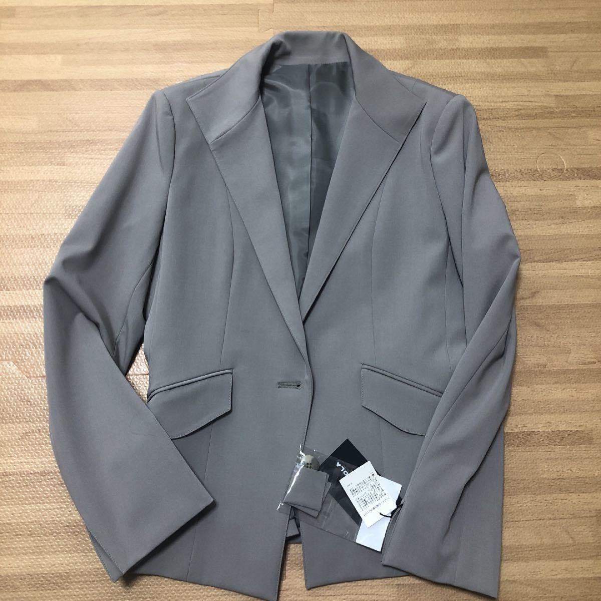 テーラードジャケット レディース スーツ ホワイトジョーラ 11AR