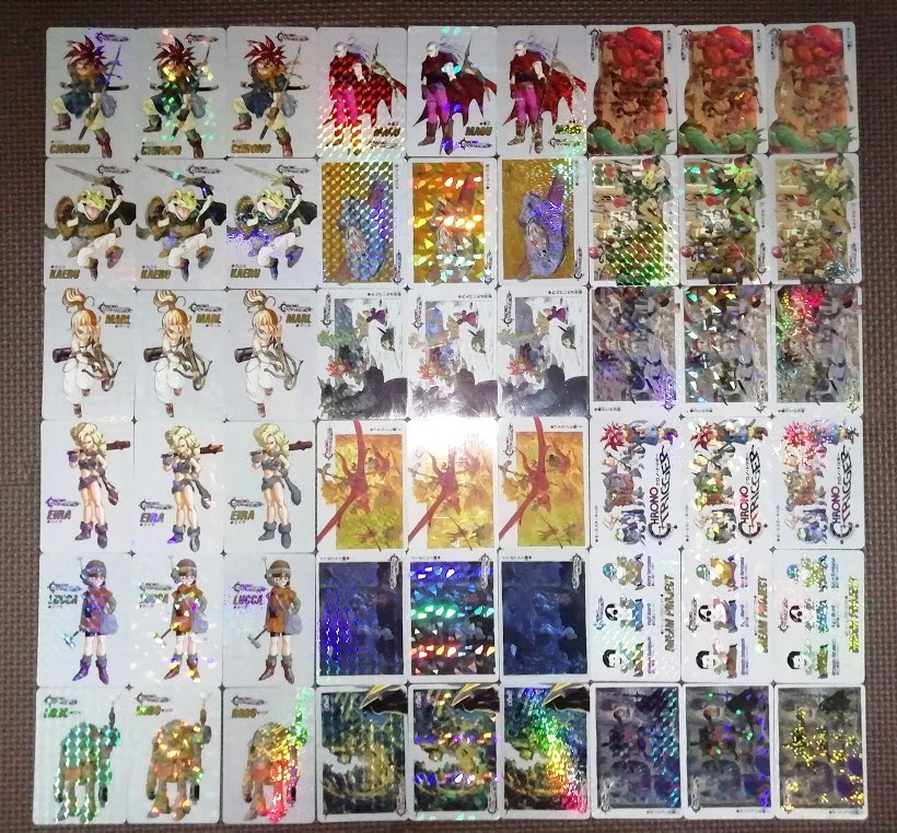 1円~クロノトリガー非売品SFCカードホロ3種×18 54種 フルコンプ美~極美品 鳥山明原画 貴重品