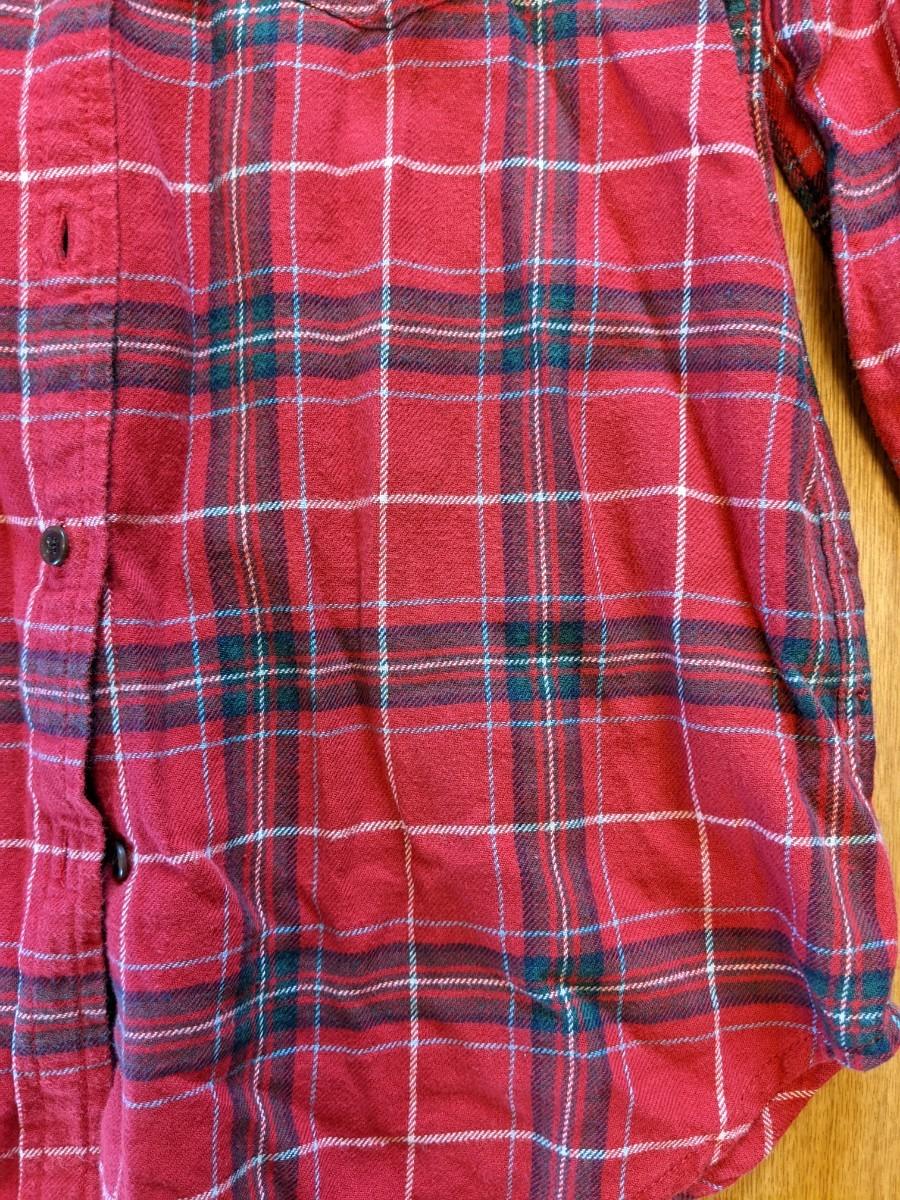ネルシャツ チェックシャツ チェック柄 長袖シャツ 長袖 ジーユー GU