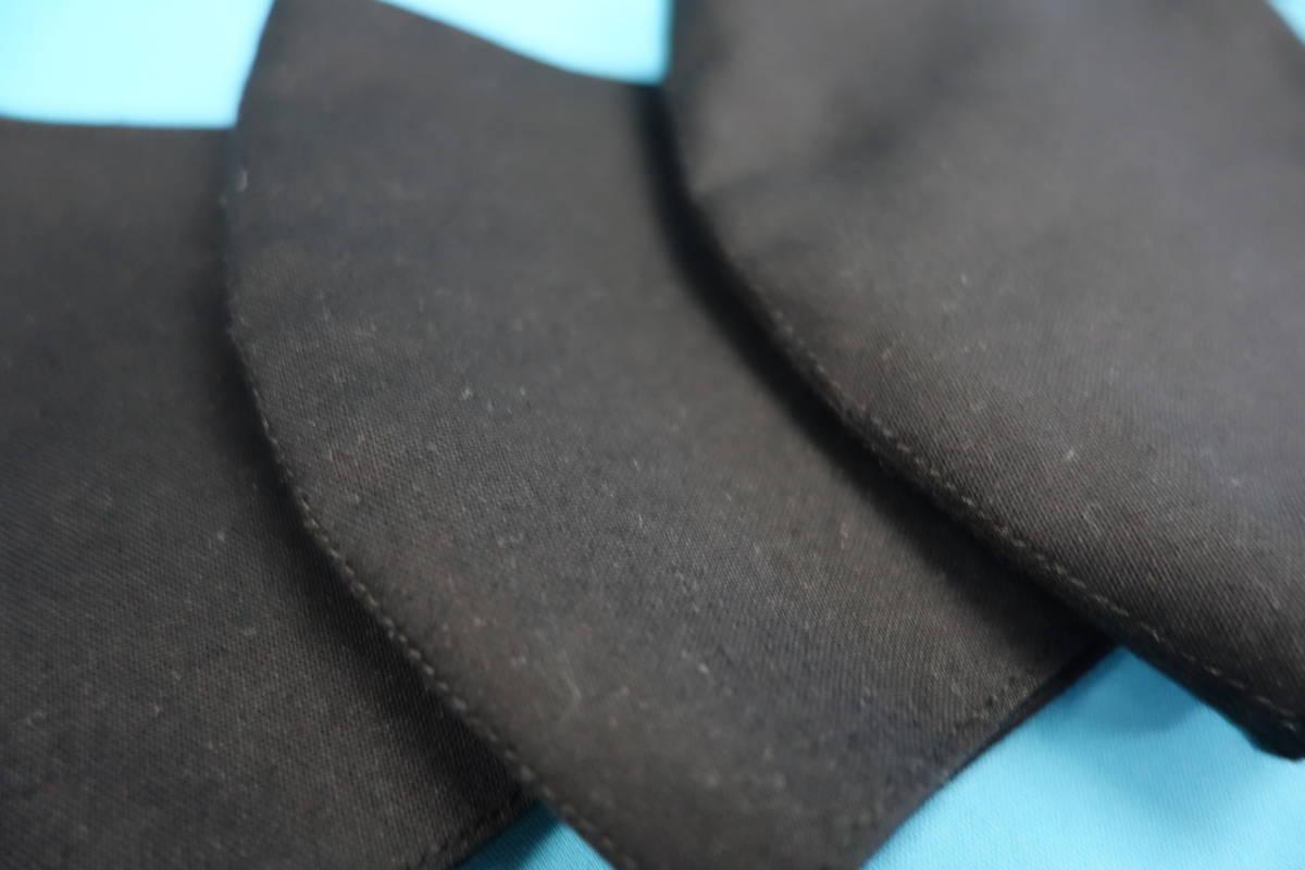 ◆綿100% ◆小顔 ◆黒 ◆シンプル ◆表裏 真っ黒 ◆マスク用ゴム黒 ◆立体 ◆手作り ◆マスクカバー ◆インナー ◆職場 ◆仕事_画像5