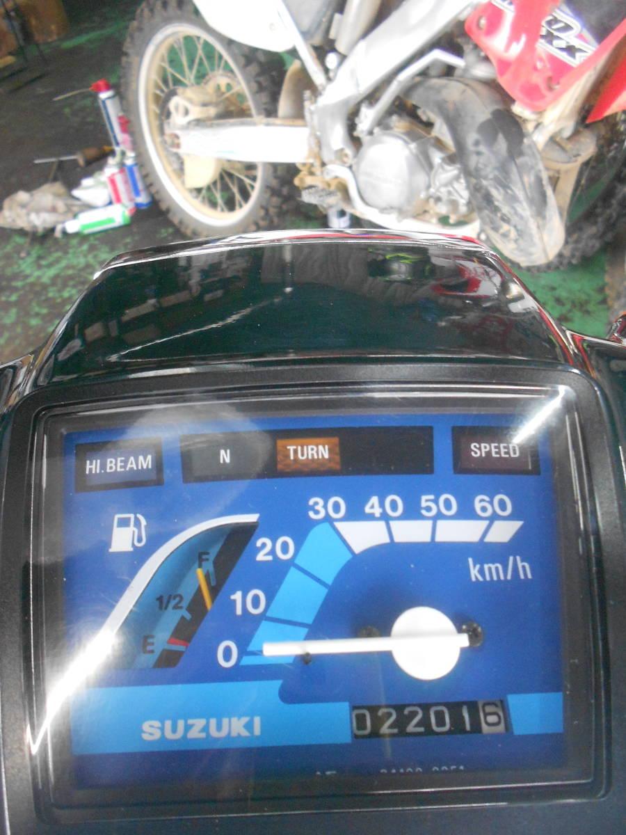 「バーディー BA41 4スト 最終モデル セル付 2300㌔ 極上 新品部品多数 点検整備仕上げ済  山形発 スーパーカブ 行灯 モンキー」の画像3
