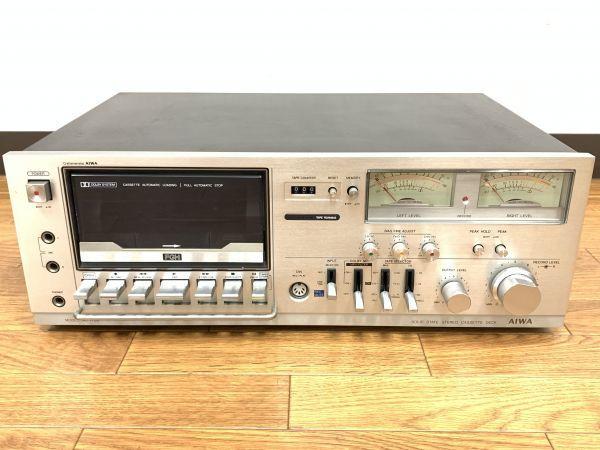 通電確認済 AIWA AD-7700 アイワ ステレオカセットデッキ