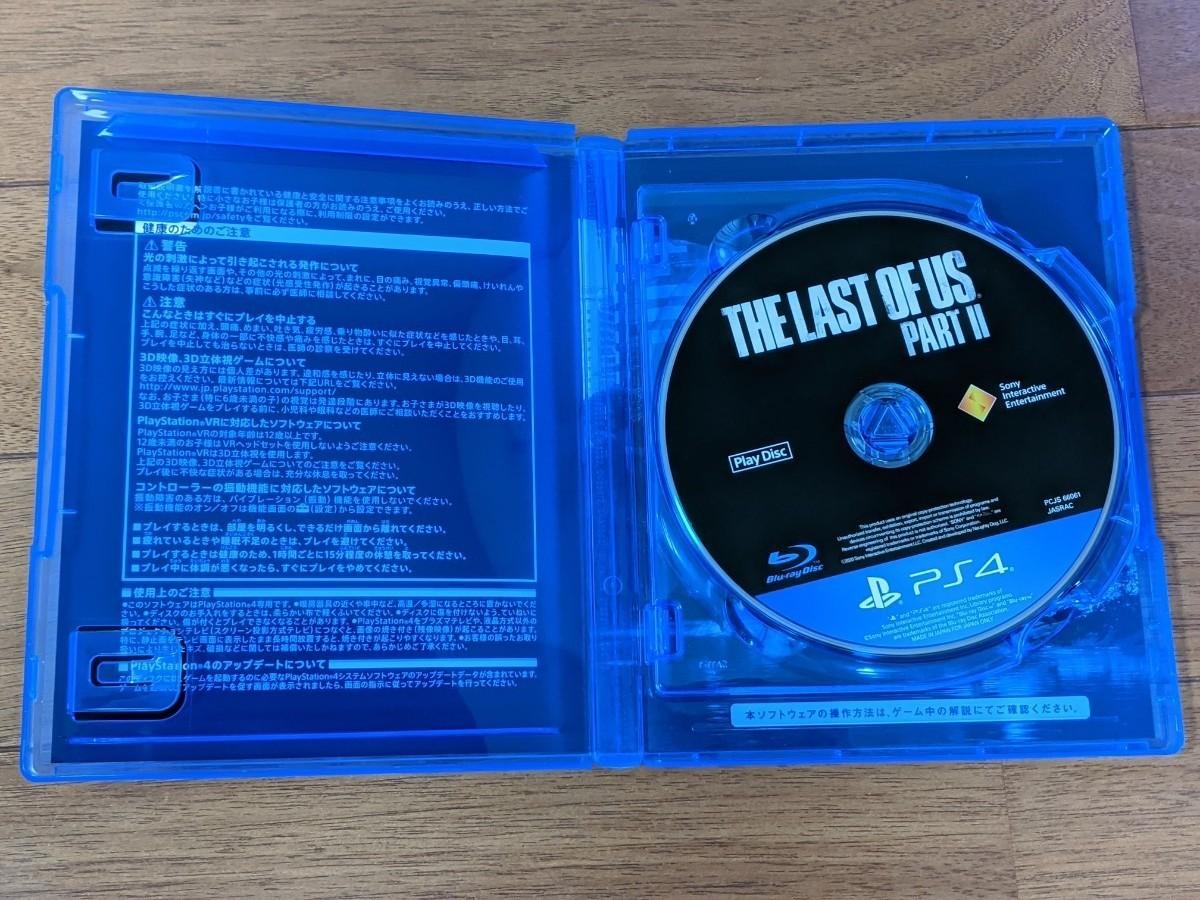 美品! PS4用ソフト SIE ラストオブアス パート2
