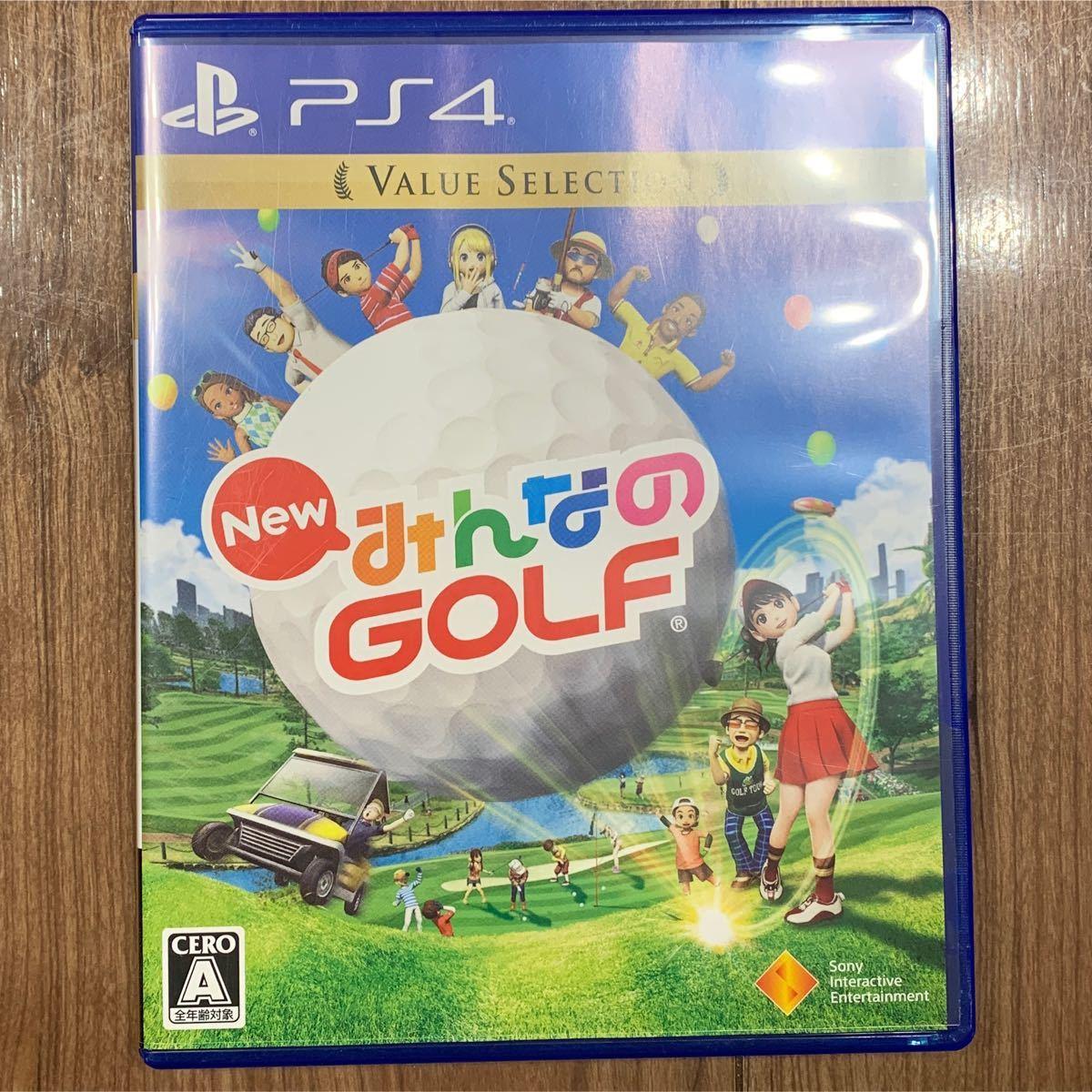 みんなのGOLF PS4 みんなのゴルフ